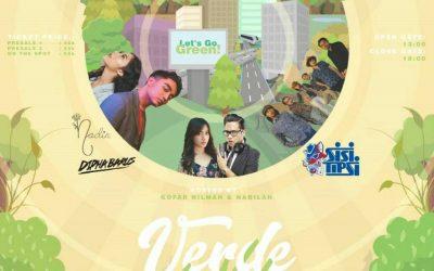 Naif Akan Jadi Bintang di Ulang Tahun SMA Negeri 80 Jakarta, Verde La Vida