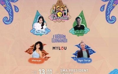 Salah Satu Event Terbesar di Cikarang, Prexodinary SMA President Siap Wujudkan Generasi Muda yang Cinta Budaya