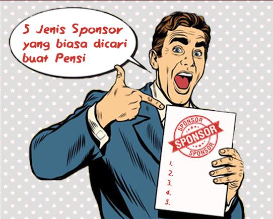 sponsor pensi