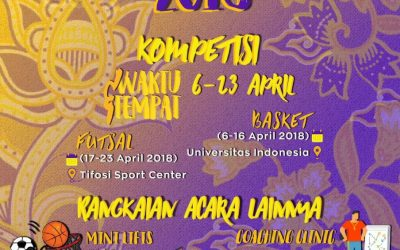 Liga Fisip UI: Ajang Kompetisi Futsal dan Basket-nya Rumpun Sosial dan Humaniora Se-Indonesia