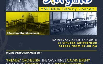 Charity Concert, Story of Us Yapendik GPIB Hadir di Artpreneur Ciputra