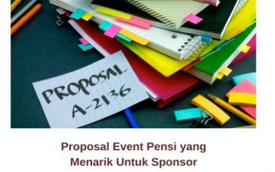 Proposal Event Pensi yang Menarik Untuk Sponsor