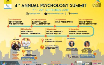Stress? Datang Aja ke 4th Annual Psychology Summit