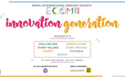 Tantang Bahasa Inggrismu di eCOM 2018!