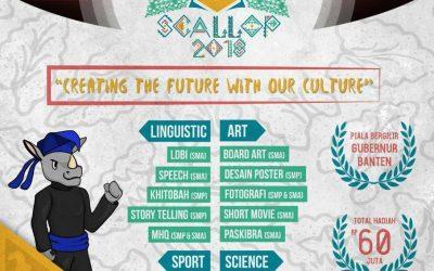 Cintai Budaya Indonesia di Scallop 2018, yuk!