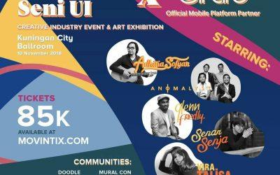 Express Your Freedom at Dongkrak Seni 2018!